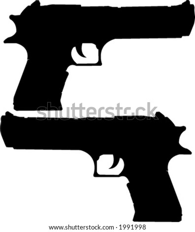 desert eagle   vector