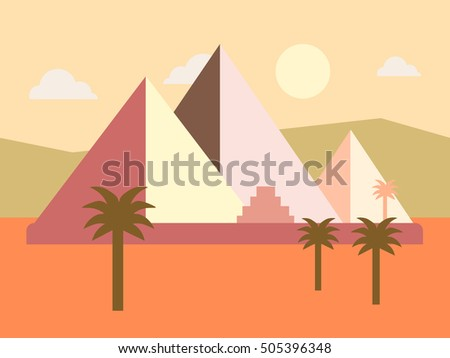 desert egypt pyramids sunset