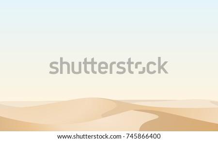 Stock Photo Desert landscape