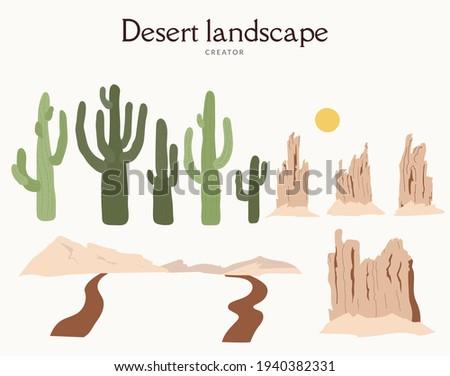 desert landscape constructor