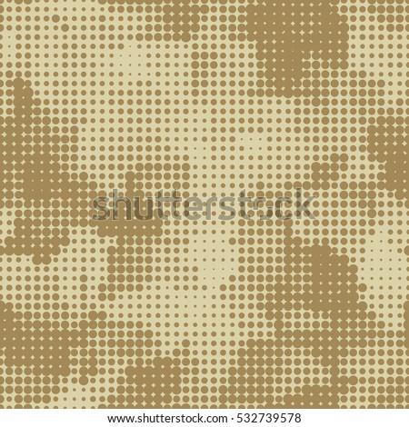 desert military beige seamless