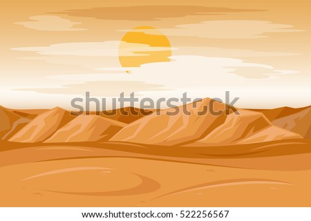 desert mountains sandstone