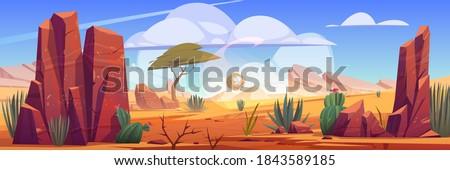 desert of africa natural