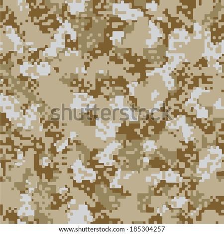 desert sand vector seamless