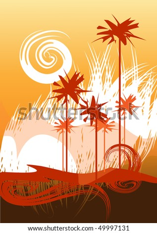 desert theme   background