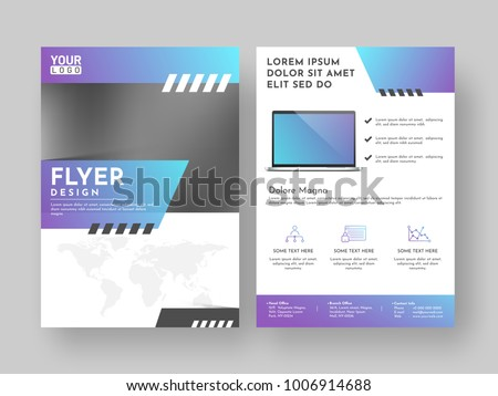 Design annual report, cover, vector template brochures, flyers, presentations, leaflet, magazine a4 size.  #1006914688