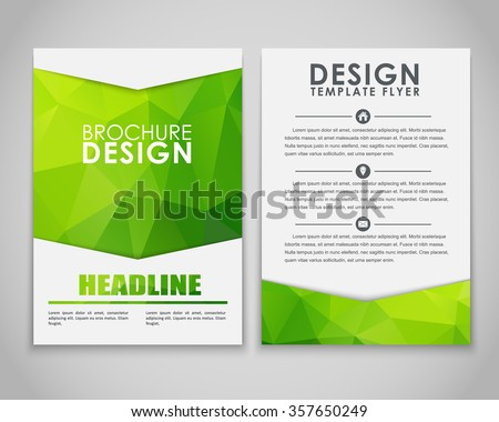 design brochures  flyers  with