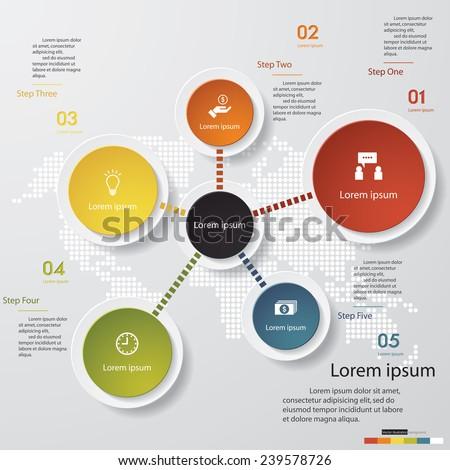 design clean template graphic