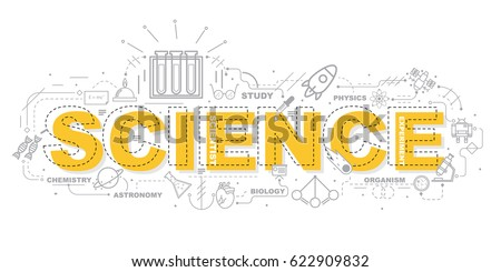 design concept of word science