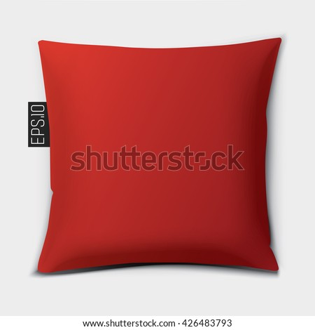 design cushion  pillow   vector