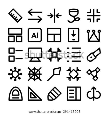Design & Development Vector Icons 9