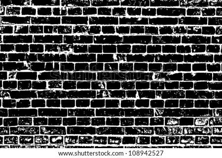 design element. Ancient brick wall texture
