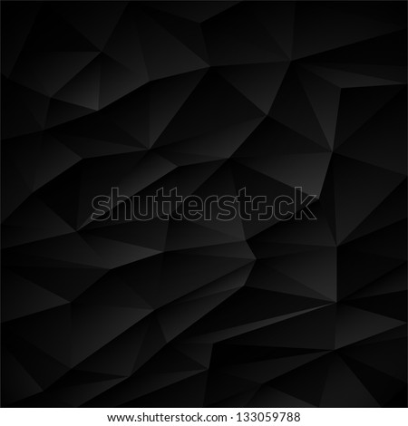 design element black abstract