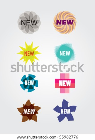 design elements for cover, vector