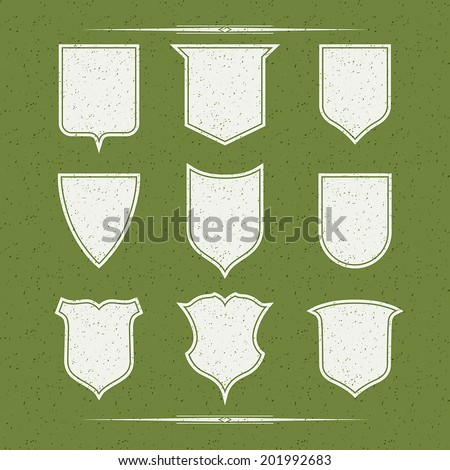 design elements forms shields