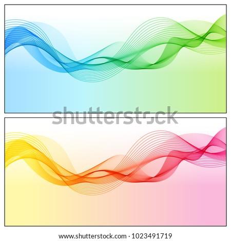design elements gradient wave