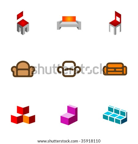 Design elements or logotype design - Set 58