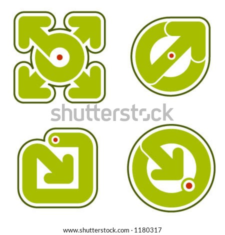 ShutterStock Design Elements p.31b Arrows is a vector file format for ...