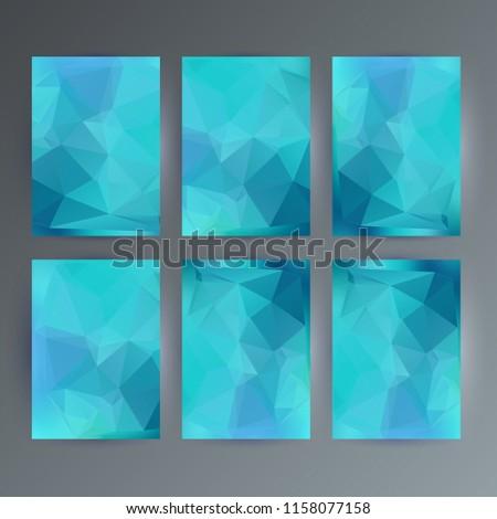 picnetz design elements presentation template set vertical