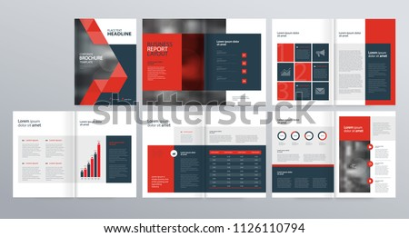 Design layout template for company profile ,annual report , brochures, flyers, presentations, leaflet, magazine,book . and vector a4 size for editable.