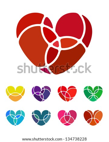 Free heart vectors 358 downloads found at Vectorportal