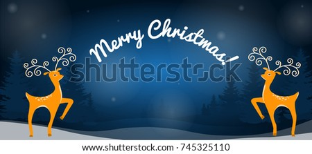 design of a christmas card with