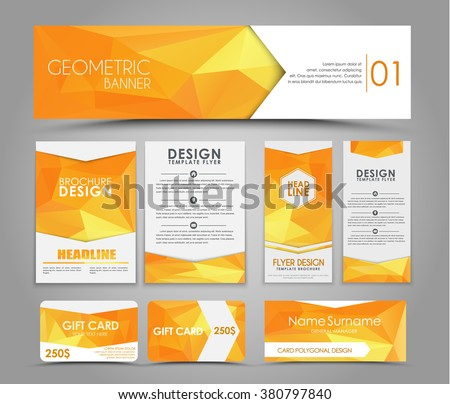 design of flyers  banners