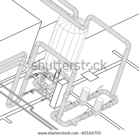 Design of hydraulic systems supply water