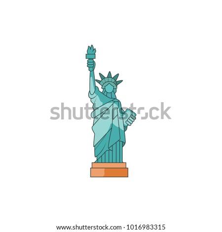 design of liberty statue