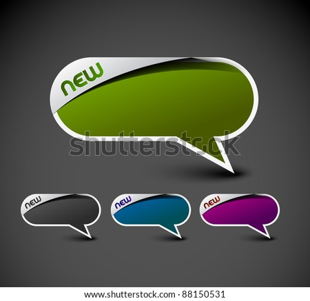 Design of messenger window. transparent shadow easy replace background and edit colors.