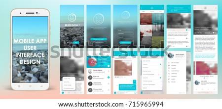 design of mobile app  ui  ux