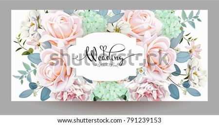 Design of wedding invitation