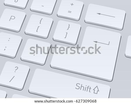 design of white computer