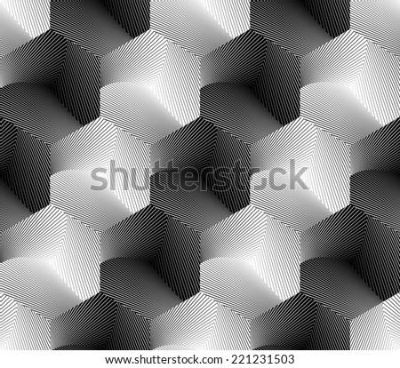 design seamless hexagon