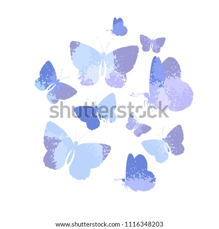 stock-vector-design-set-of-blue-silhouettes-watercolor-butterflies-isolated-on-white-background-art-vector