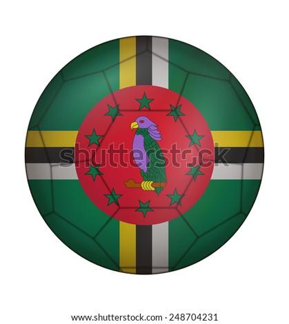 design soccer ball flag of