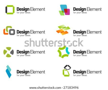 Design symbols set. part 11