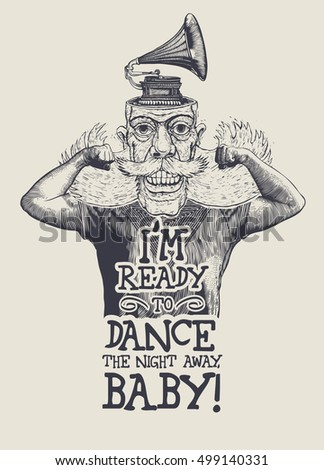 design t shirt i'm ready to