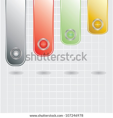 Design template banners. vector