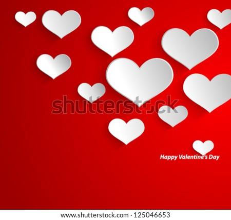 design template   eps10 heart