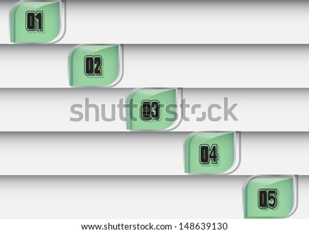 Design template glass  green color