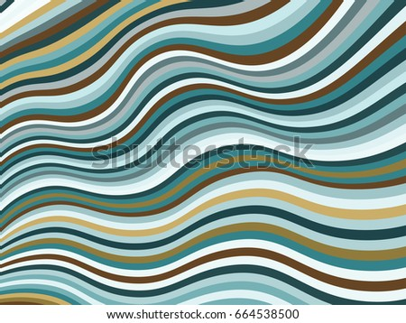 stock-vector-design-template-with-curve-lines-blue-brown-wavy-geometric-background-abstract-striped-vector