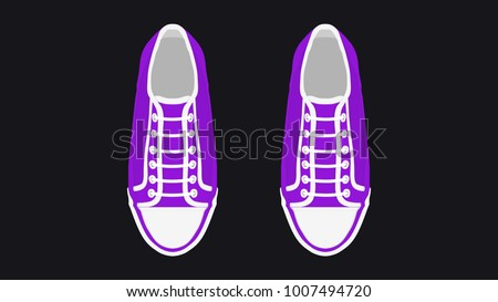 design vector sneakers