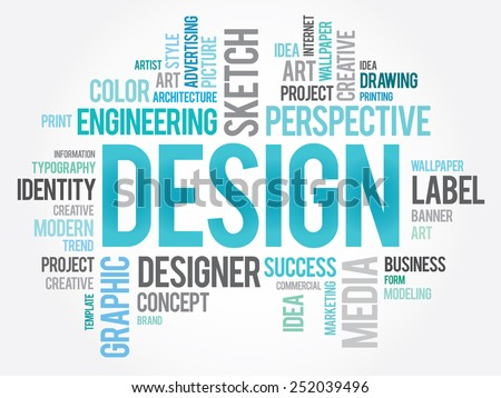 design word cloud  creative