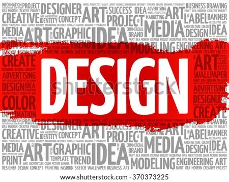 design word cloud  creative