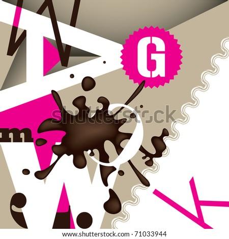 designed conceptual background