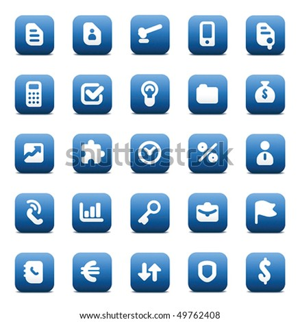 Designers icons set for business. Vector illustration. - stock vector
