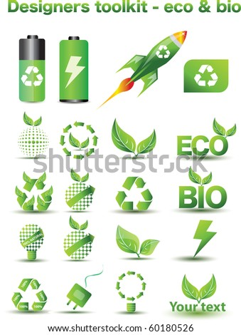 Designers toolkit - eco & bio