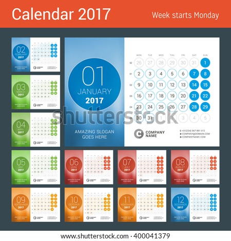 stock-vector-desk-calendar-for-year-set-of-months-vector-design-print-template-with-place-for-photo