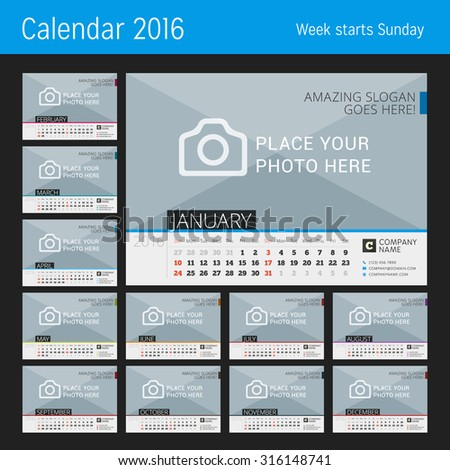 stock-vector-desk-calendar-for-year-vector-design-print-template-with-place-for-photo-set-of-months